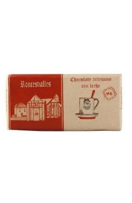 Chocolate Artesano con Leche Roncesvalles 125 gr
