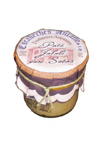 Paté de Jabalí con Setas Escabeches Antaño 100 gr