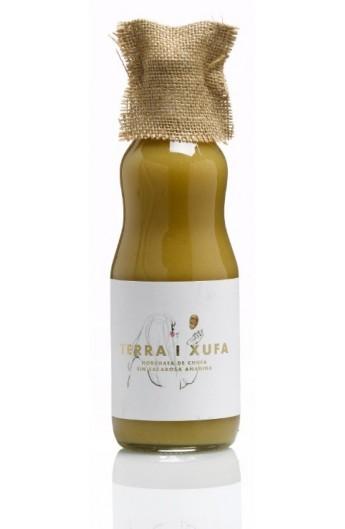 Horchata concentrada sin sacarosa Terra i Xufa producción ecológica 500 ml -D.O. Chufa de Valencia