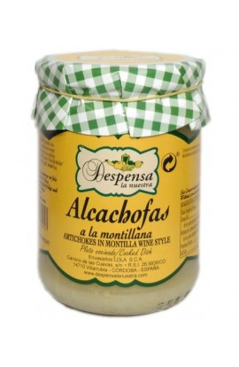 Alcachofas a la Montillana Despensa La Nuestra 410 gr