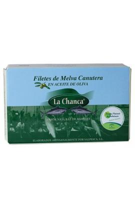 Conserva de Filetes de Melva Canutera en Aceite de Oliva La Chanca 125 gr