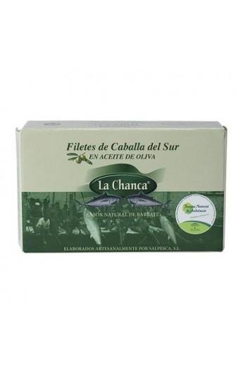 Conserva de Filetes de Caballa del Sur en Aceite de Oliva La Chanca 125 gr