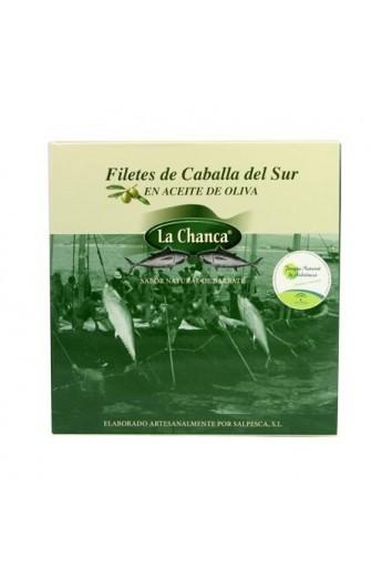 Conserva de Filetes de Caballa del Sur en Aceite de Oliva La Chanca 525 gr