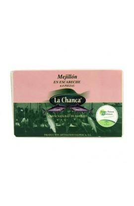 Conserva de Mejillones en Escabeche 6/8 La Chanca 125 gr