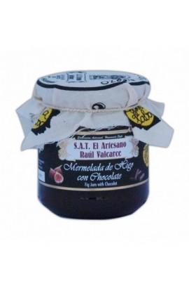 Mermelada de Higo con Chocolate S.A.T. El Artesano Raúl Valcarce 220 gr