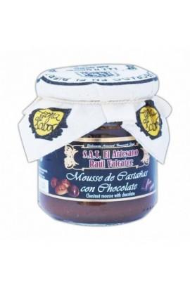 Mousse de Castañas con Chocolate S.A.T. El Artesano Raúl Valcarce 220 gr