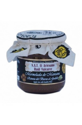 Mermelada de Manzana Reineta al Godello S.A.T. El Artesano Raúl Valcarce 220 gr