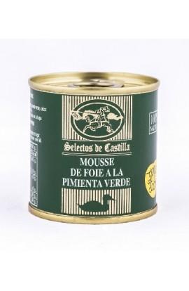 Paté Mousse de Pato a la Pimienta Verde Selectos de Castilla 95 gr