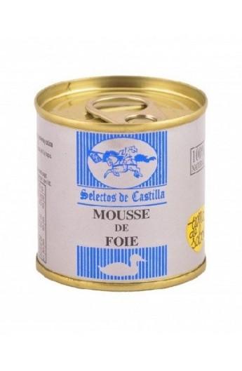 Paté Mousse de Foie Selectos de Castilla 95 gr