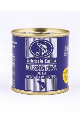 Paté Mousse de Trucha de la Montaña Palentina Selectos de Castilla 95 gr