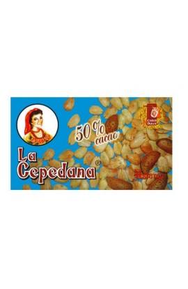 Chocolate con Almendras La Cepedana 50% Cacao 200 gr