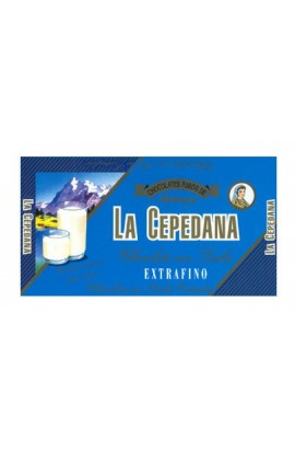 Chocolate Extrafino con Leche La Cepedana 100 gr