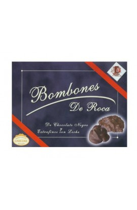 Bombones de Roca Chocolate Negro – Extrafinos Leche La Cepedana 200 gr
