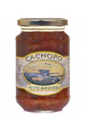 Pisto Manchego producción ecológica Cachopo 370 cc