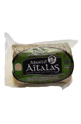 Queso de Oveja Láctico de los Montes de León  Abuelo Aitalas 450 gr