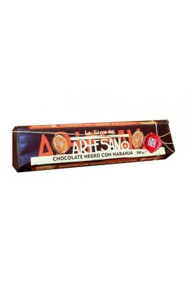 Chocolate Negro con Naranja La Tierra del Artesano 300 gr