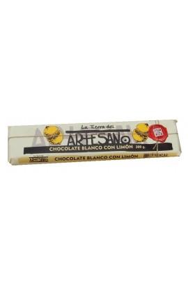 Chocolate Blanco con Limón La Tierra del Artesano 300 gr