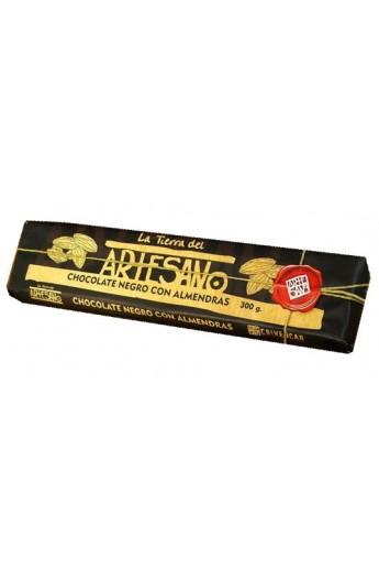 Chocolate Negro con Almendras La Tierra del Artesano 300 gr