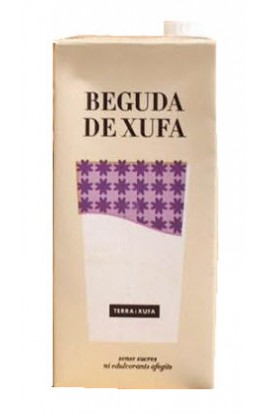 Beguda de Xufa producción ecológica Terra i Xufa Brik 1 l – D.O. Chufa de Valencia
