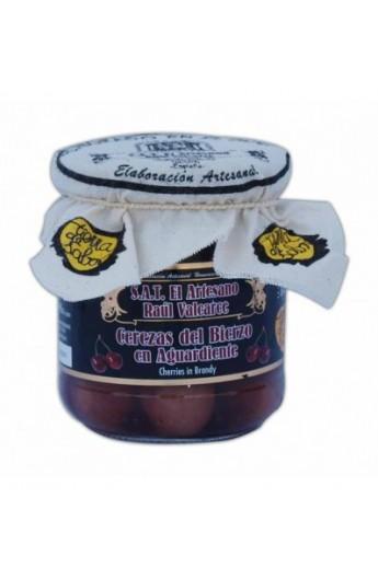 Cerezas en Aguardiente S.A.T. El Artesano Raúl Valcarce 200 gr