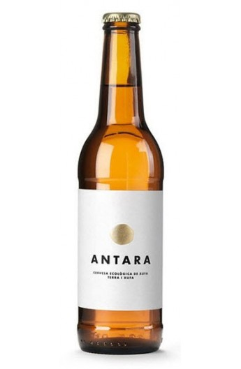 Cervesa ecológica de xufa Antara Terra i Xufa 33cl