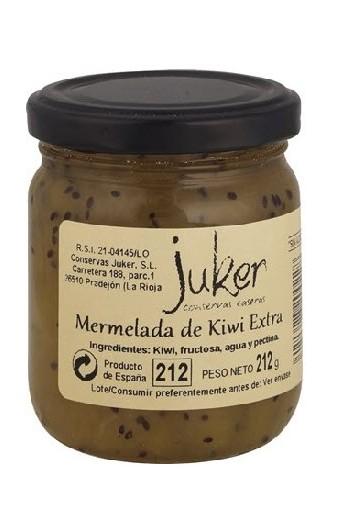 "Mermelada ""sin azúcar"" de Kiwi Extra Juker 212 gr"