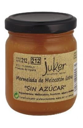 """Mermelada """"sin azúcar"""" de Melocotón Extra Juker 212 gr"""
