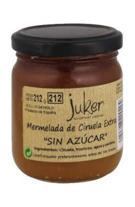 """Mermelada """"sin azúcar"""" de Ciruela Extra Juker 212 gr"""