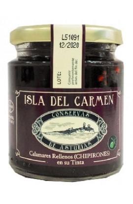 Chipirones Rellenos en su Tinta Isla del Carmen 230 gr