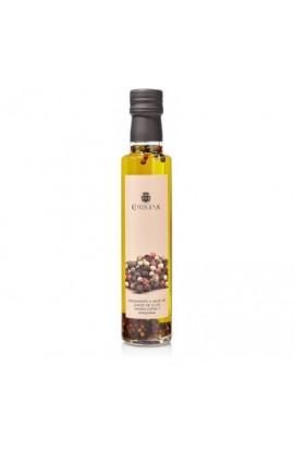 Aceite de Oliva Virgen Extra Condimento de Pimientas 250 ml