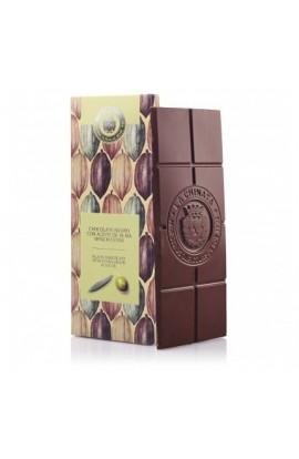 Chocolate Negro con Aceite de Oliva Virgen Extra La Chinata 125 gr