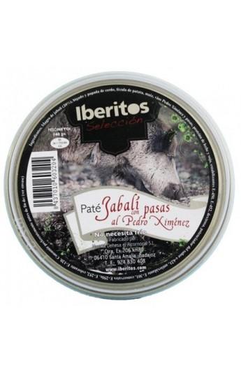 Paté de Jabalí con Pasas al Pedro Ximénez Iberitos 140 gr