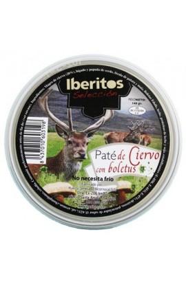 Paté de Ciervo con Boletus Iberitos 140 gr