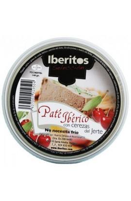 Paté Ibérico con Cerezas Iberitos 140 gr