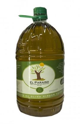 Aceite de Oliva Virgen Extra El Paraíso PET 5 l – D.O. Montes de Toledo