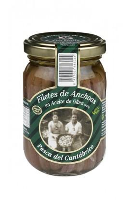 Conserva de Filetes de Anchoa de Santoña en Aceite de Oliva Ana María 200 gr